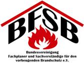 Logo_BFSB_Bundesvereinigung-Fachplaner-und-Sachverstaendige-fuer-den-vorbeugenden-Brandschutz-eV